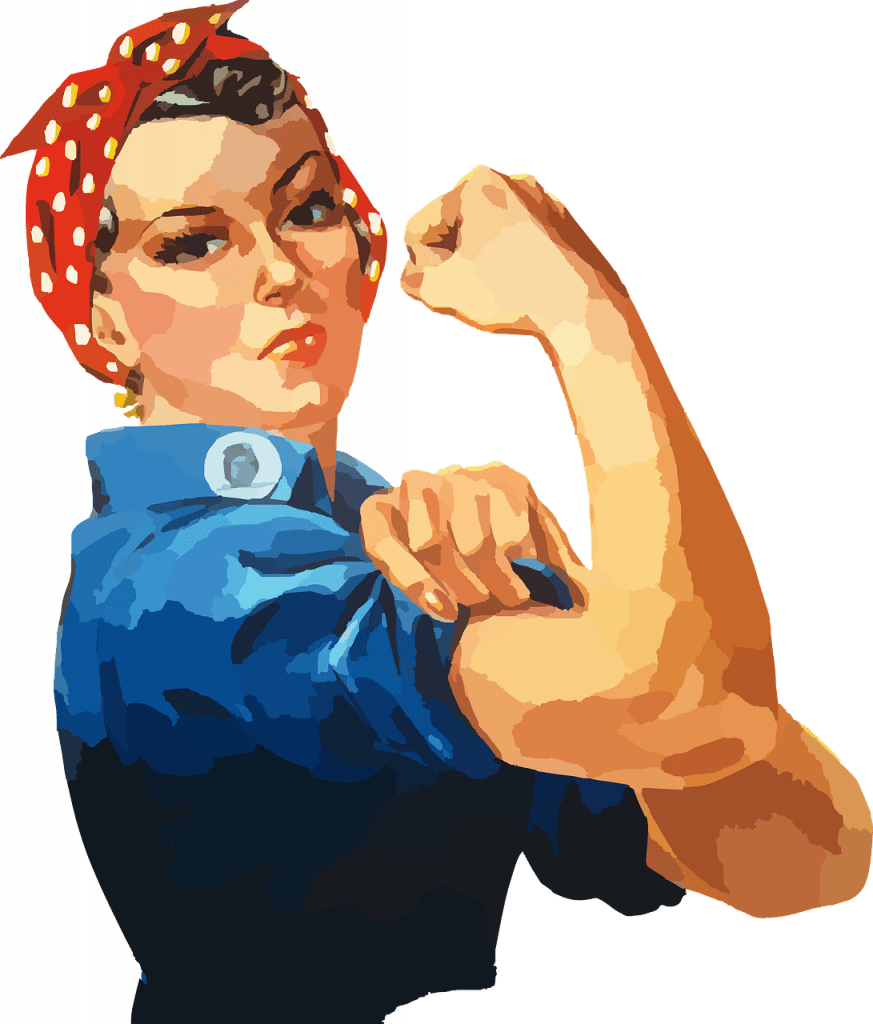woman, equality, rosie